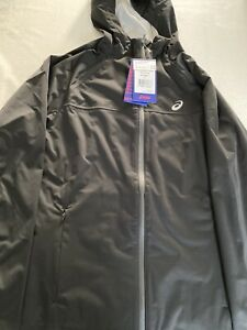 asics accelerate running jacket, size S RRP £130