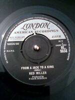 """Ned Miller – From A Jack To A King Vinyl 7"""" Single UK London HL 9658 1963"""