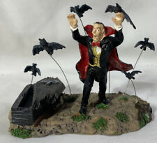 Lemax Spooky Town Table Accent ~ VAMPIRE & BATS ~ Halloween Accessory NO BOX