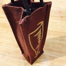 Wine Carry Bag Jute Reusable Single Bottle Wine Gift Bag