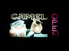 1993 Camel lighted open hanging sign Man cave Pool 🎱 room👀🕶