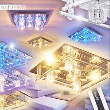 Decken Lampen LED Farbwechsler Flur Wohn Schlaf Zimmer Beleuchtung Fernbedienung