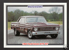 1964 FORD FALCON A/FX 427 NHRA Drag Race Car Photo 1992 SPEC TRADING CARD