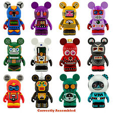"Disney 3"" Vinylmation Mix - Match Robot Series 2  Set of 24 w CHASER Sealed Tray"