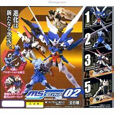 Gundam MS Frontier 02 AGE-2 Aile Strike GM Command Gouf Figure Gashapon Set 6pcs