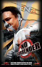 Official TNA Impact Wrestling 38 x 24 inch No Surrender 2008 PPV Poster