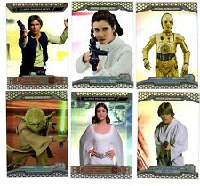 2014  Chrome Star Wars  Perspective Complete 100 card set E-50  R-50 + Wrapper