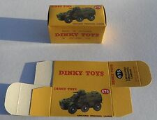 High Quality Reproduction Dinky Military Boxes - 676 Armoured Personnel Carrier