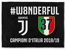 Bandiera Juventus #w8nderful celebrativa SCUDETTO 2019