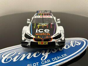 Carrera D132 Digital 30738 BMW ICE Watch DTM 1/32 Slot Car.