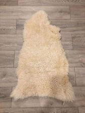 Genuine Sheepskin Rug.