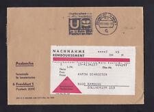 Versandtasche, -umschlag für Sammlermarken 1968 Frankfurt am Main Nachnahme
