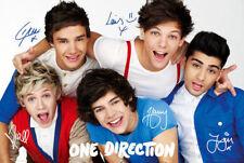 One Direction Poster Maxi tamaño con firmas con licencia oficial lp1655