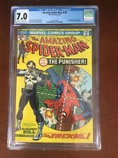Amazing Spider-Man #129 CGC 7.0 First Appearance of The Punisher