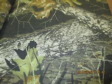 "Mossy Oak Breakup Camo Camouflage Craft Fabric Shirting 60"" wide per yard"