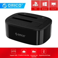 ORICO 6228US3 5Gbps Dual Bay 2.5/3.5 inch HDD SSD USB 3.0 Docking Station Case
