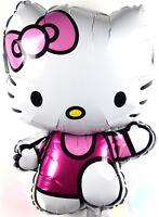R58F3 XL Hello Kitty Helium Ballongas Katze Folienballon Figur Kinder Geburtstag