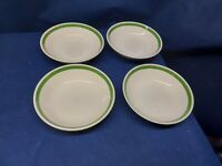 Vintage Royal China Cavalier Ironstone Triple Treat Set/4 Soup/Cereal Bowls USA