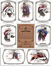 2015-16 UD Upper Deck Champs Colorado Avalanche Team Set (8)