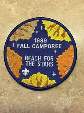 1999 FALL CAMPOREE  REACH FOR THE STARS BSA PATCH