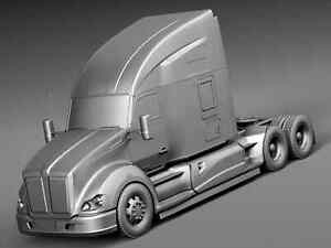 RC Truck Kenworth T680 1/14 and Freightliner Cascadia Semi Truck