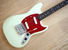 1991 Fender Mustang MG69 Vintage Reissue Electric Guitar Olympic White MIJ Japan