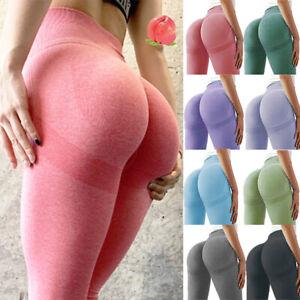 Women Anti-Cellulite Compression Push Up Yoga Pants Leggings Gym Fitness Sport
