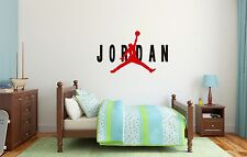 Michael Jordan Air NBA Basketball Wall Decal Decor For Home