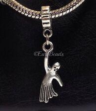 GHOST_Bead For European Charm Bracelet_Halloween Spirit Paranormal Haunted_J55