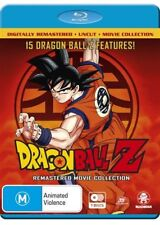 Dragon Ball Z Remastered Movie Collection Uncut Volume 1 - 15 Blu Ray RB