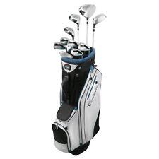 New Lady Powerbilt Countess Complete Golf Set W/ Bag Driver Wood Hybrid Iron