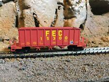 N Scale Micro trains 3 bay rapid discharge hopper FLORIDA EAST COAST