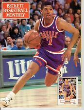 BASKETBALL  BECKETT CARD MONTHLY BACK ISSUE JUNE 1991 KEVIN JOHNSON COVER
