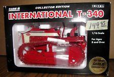 IH International T340 Crawler Tractor 1:16 Ertl Toy 1997 Case DEALER CollectorEd
