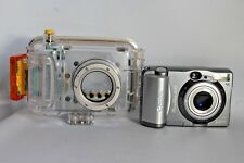 CANON POWERSHOT A40 WITH CANON WP-DC200s WATERPROOF CASE GOOD CONDITION (USED)