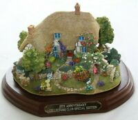 Lilliput Lane The Enchanted Garden L2410 complete with Deeds