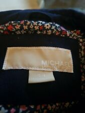 Girls Micheal Kors Navy Jacket