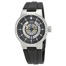 Oris Williams Skeleton Dial Automatic Mens Rubber Watch 01 733 7740 4154-07 4