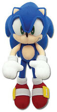 "NEW Great Eastern GE-8985 Sonic the Hedgehog 7"" Mini-Size Sonic Stuffed Plush"