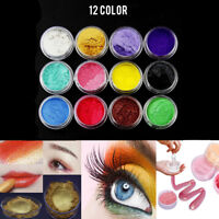 12 Colors/Set Pigment Powder For Candle Soap Cosmetics Resin Colorant Dye DIY