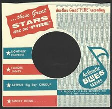 FIRE REPRODUCTION RECORD COMPANY SLEEVES - (pack of 10)