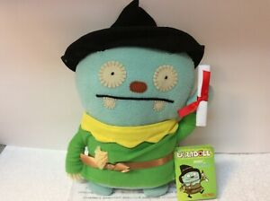 WIZARD OF OZ SCARECROW GUND UGLYDOLL New with Tag JERRO 11  inches tall