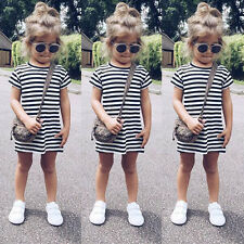 Summer Toddler Baby Kids Girl Party Prom Princess Dress Casual Holiday Sundress 1-2 Years