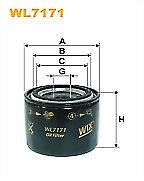 Wix WL7171 Oil Filter