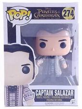 New Funko Pop Disney Pirates of the Caribbean Captain Salazar #274