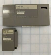 EPSON LQ800 LQ1000 INDENTITY MODULE 7696 WITH FONT MODULES 7401