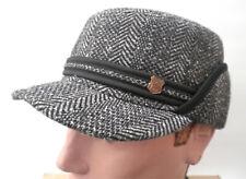 Gorro Hombre Orejeras de Invierno Gr.55 Visera Sombrero para