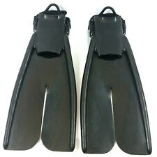 Apollo Bio-Fin Pro Open Heel Adjustable Fins Flippers Scuba Snorkel Freedive - M