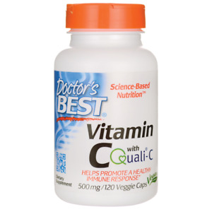 Doctor's Best Vitamin C with Quali-C 500 mg 120 Veg Caps