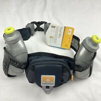 Nathan Trail Mix Hydration Running Hydration Belt Color GREY Adjustable Unisex
